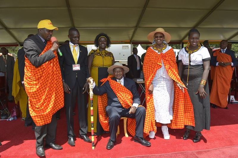 12th August International Youth Day Held in Moroto alongside the National Youth Council